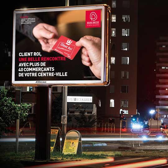 affichage urbain bourg en bresse affiches publicite