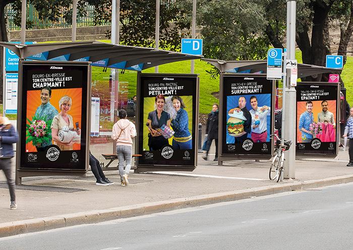 Placement publicitaire Bourg-en-Bresse
