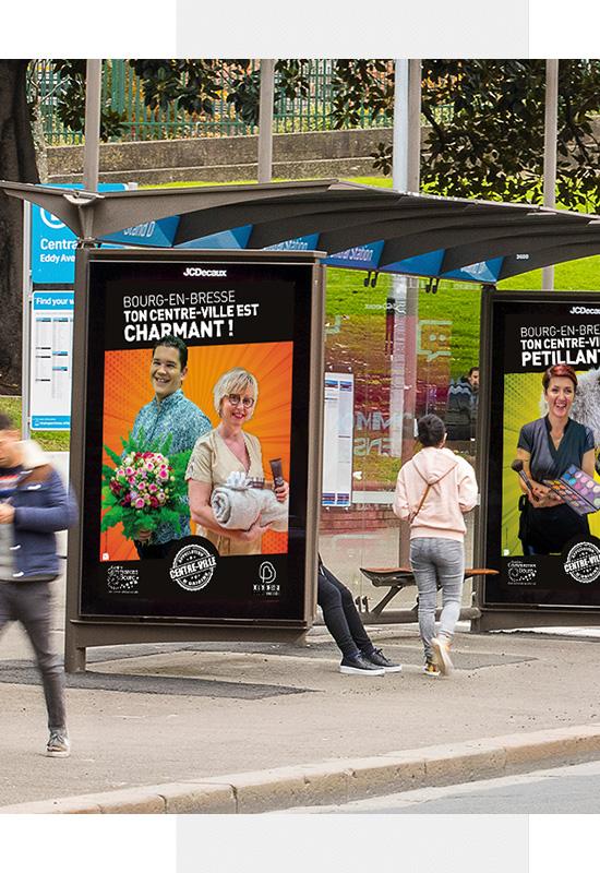 Agence de publicité dans le département de l'Ain, Mâcon, Bourg-en-Bresse. Création de visuels, placement publicitaire.